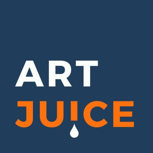 Cover art for podcast Art Juice: A podcast for artists, creatives and art lovers
