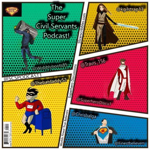 Cover art for podcast The Super Civil Servants Podcast
