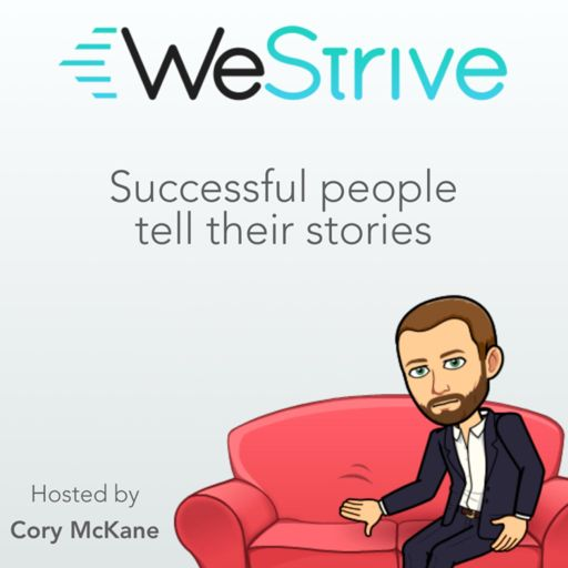 Cover art for podcast WeStrive: The Entrepreneurship Podcast