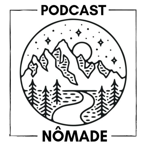 Cover art for podcast Podcast Nômade