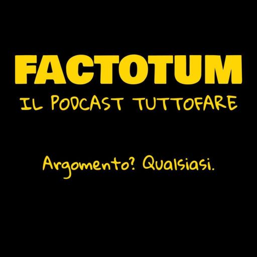 Cover art for podcast Factotum