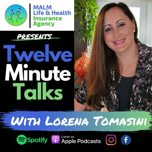Cover art for podcast Twelve Minute Talks with Lorena Tomasini