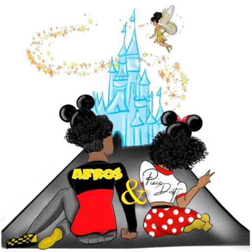 Cover art for podcast Afros and Pixie Dust: A Disblerd Podcast