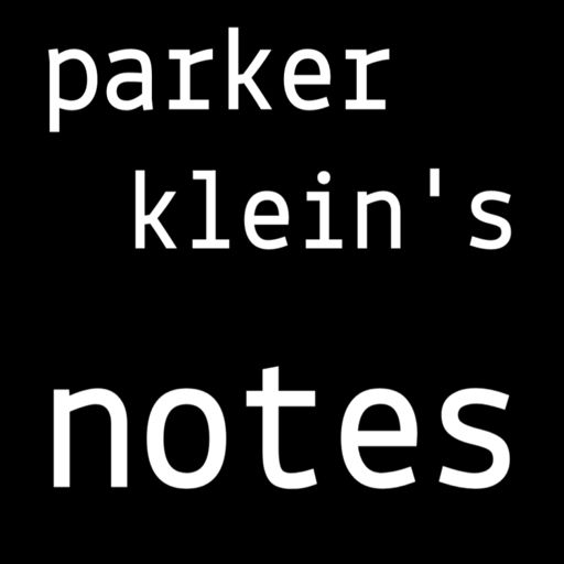 Cover art for podcast Parker Klein's Notes