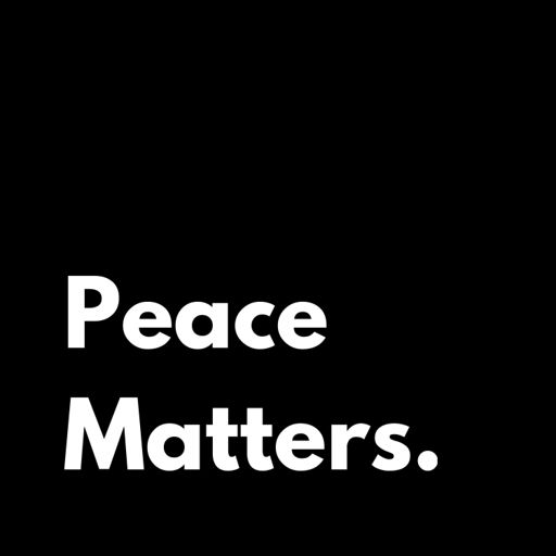 Cover art for podcast Peace Matters