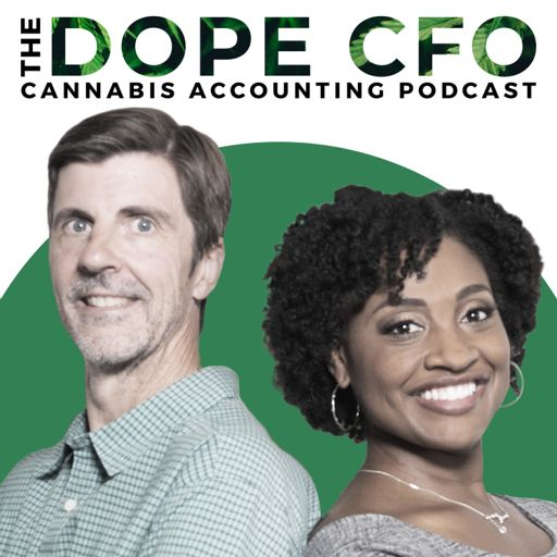 Cover art for podcast The Cannabis Accounting Podcast by DOPE CFO
