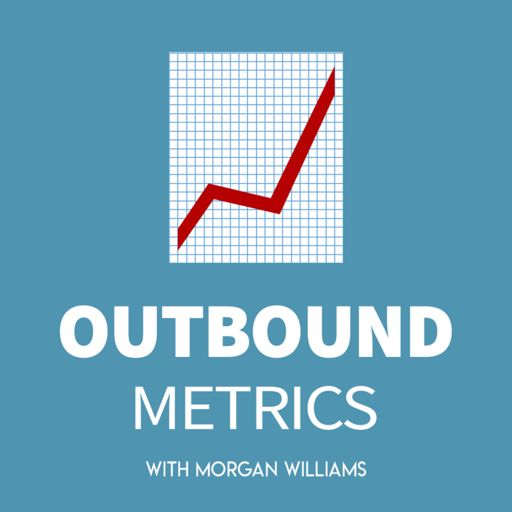 Cover art for podcast Outbound Metrics   B2B Outbound Sales