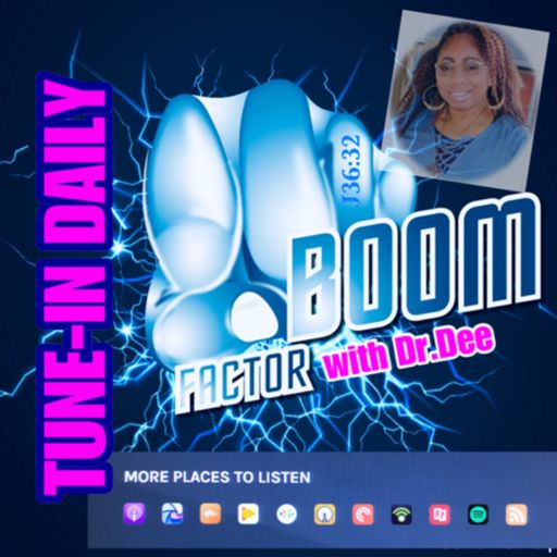 Cover art for podcast Boom Factor Radio Hosted by Dr. Dee