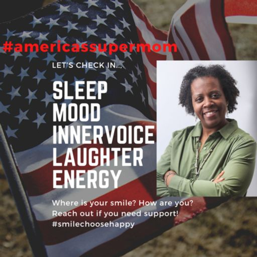 Cover art for podcast America's SuperMom shares insight to better living.