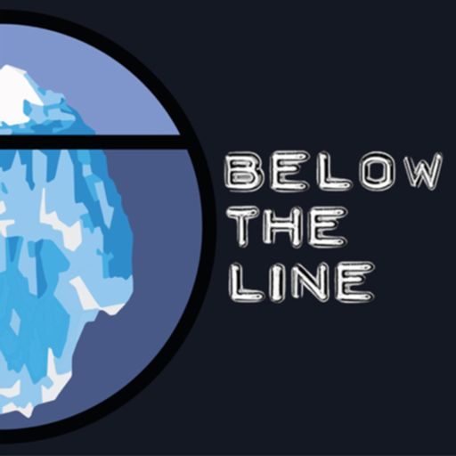 Cover art for podcast Below the Line with James Beshara
