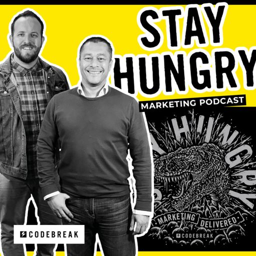 Cover art for podcast Stay Hungry - Marketing Podcast
