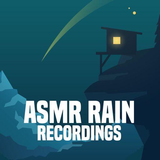 Cover art for podcast ASMR Rain Recordings