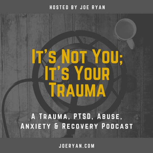 Cover art for podcast It's Not You, It's Your Trauma - Trauma, PTSD, Abuse, Anxiety & Recovery - Joe Ryan