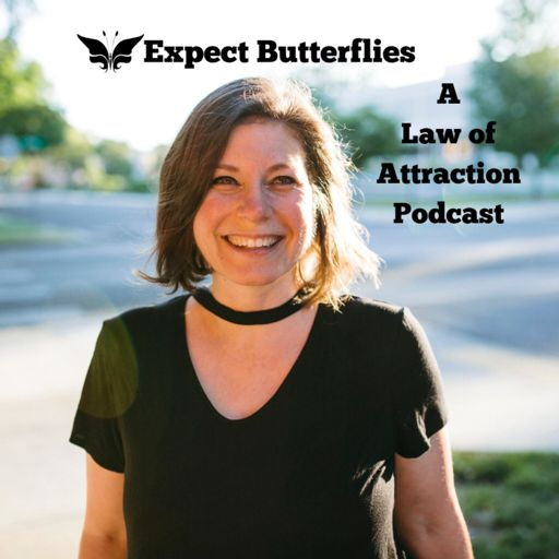 Cover art for podcast Expect Butterflies: A Law of Attraction Podcast