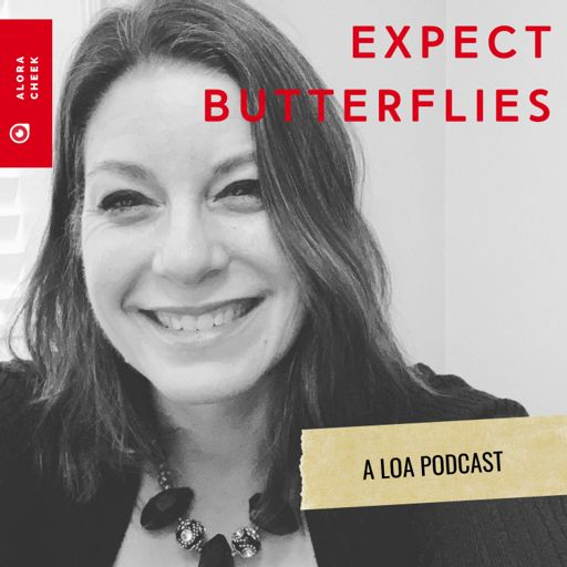 Cover art for podcast Expect Butterflies: A Law of Attraction Podcast With Alora Cheek
