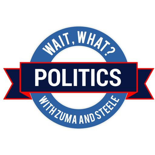 Cover art for podcast Wait, What? Politics with Zuma and Steele