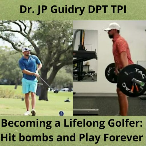 Cover art for podcast Becoming a Lifelong Golfer. Hit Bombs and Play Forever