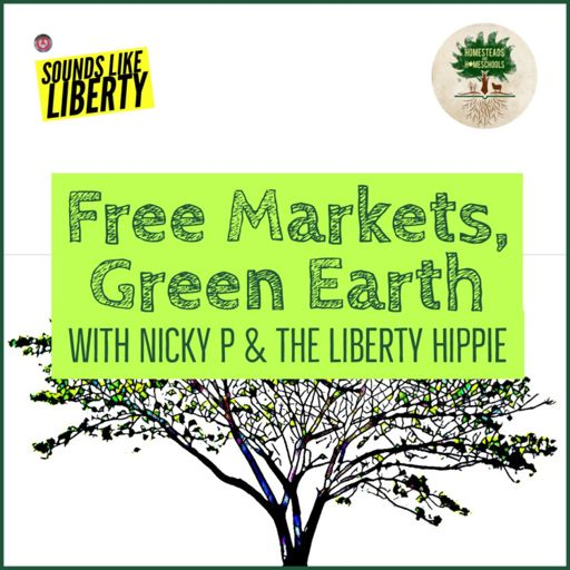 Cover art for podcast Free Markets Green Earth