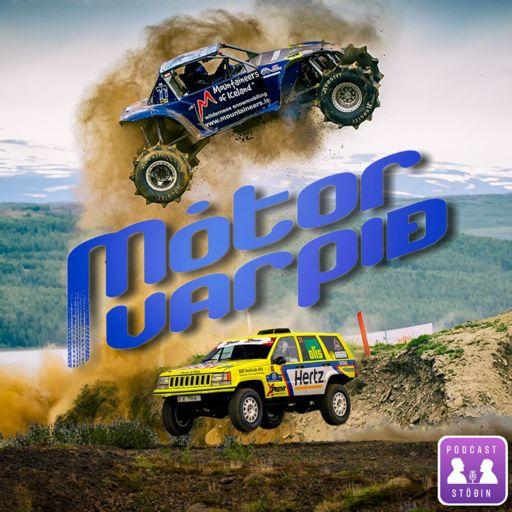 Cover art for podcast Mótorvarpið