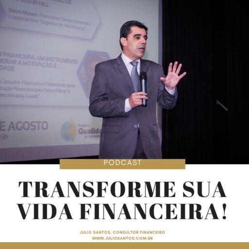 Cover art for podcast Julio Santos Educação Financeira