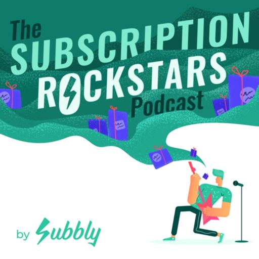 Cover art for podcast Subscription Rockstars by Subbly