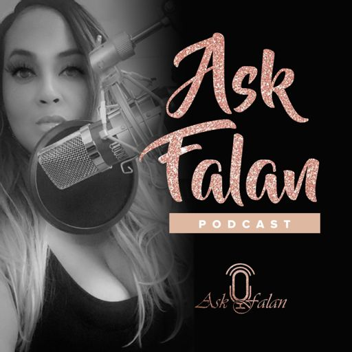 "Cover art for podcast ""Ask Falan"""