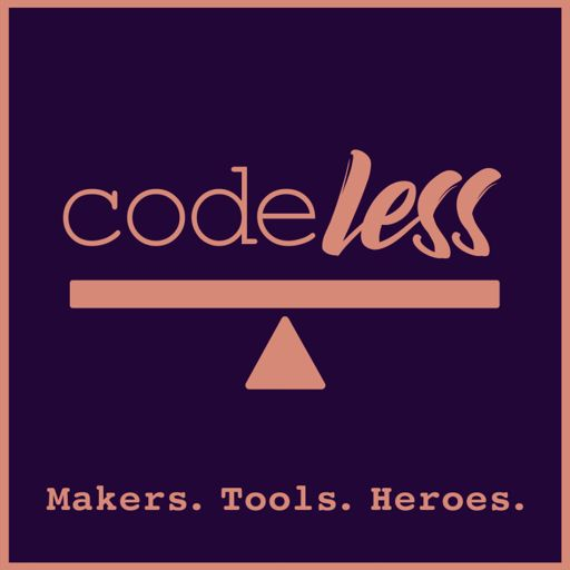 Cover art for podcast CodeLess: A Narrative on Visual Development (NoCode)