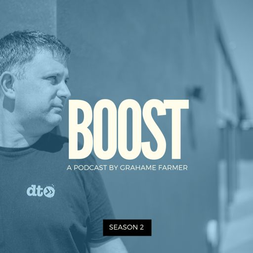 Cover art for podcast BOOST : DJ Tips, Interviews, Mindset, Goals, Motivation and Music Industry Advice