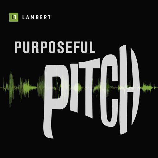 Cover art for podcast Purposeful Pitch