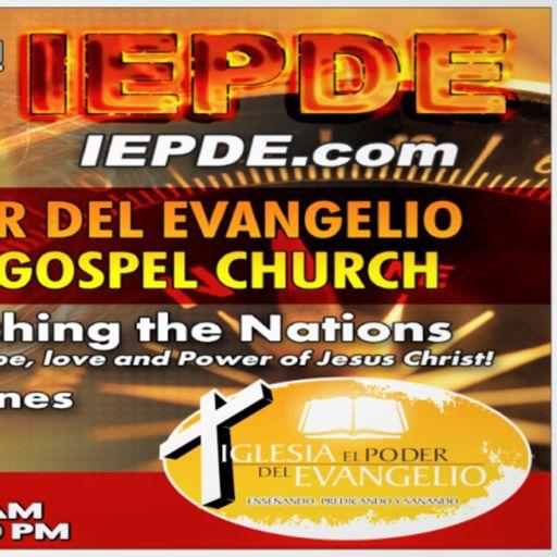 Cover art for podcast IEPDE - Iglesia El Poder Del Evangelio
