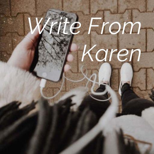 Cover art for podcast Write From Karen