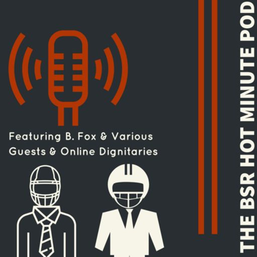 Cover art for podcast The Bearcats Sports Radio Hot Minute