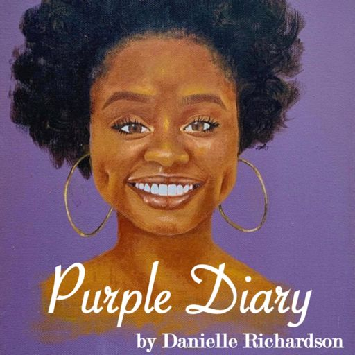 Cover art for podcast Purple Diary by Danielle Richardson