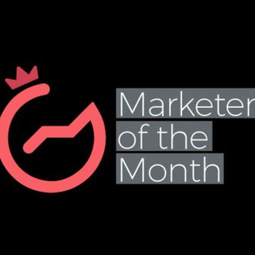 Cover art for podcast Marketer of the Month