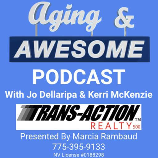 Cover art for podcast Aging And Awesome