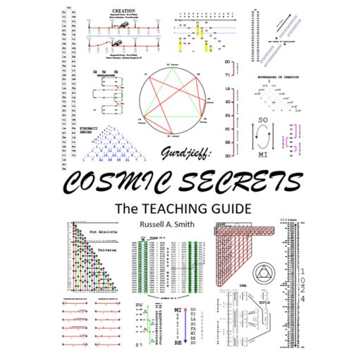Cover art for podcast Gurdjieff: Cosmic Secrets - The Teaching Guide. The blueprint to consciousness.
