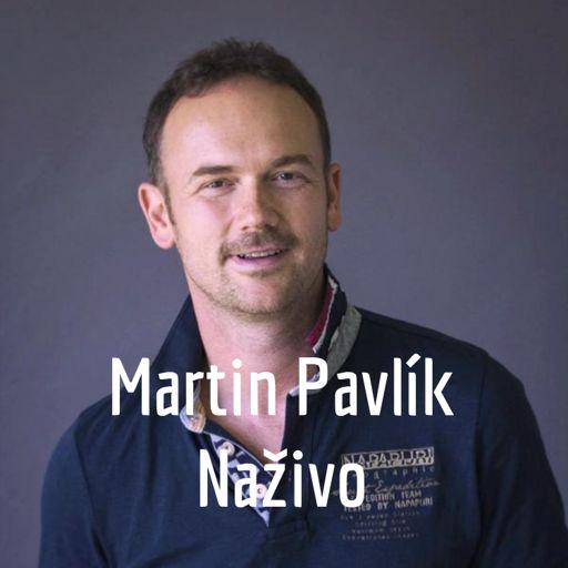 Cover art for podcast Martin Pavlík Naživo