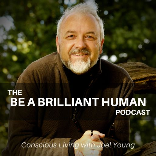 Cover art for podcast Be A Brilliant Human | Conscious Living with Joel Young