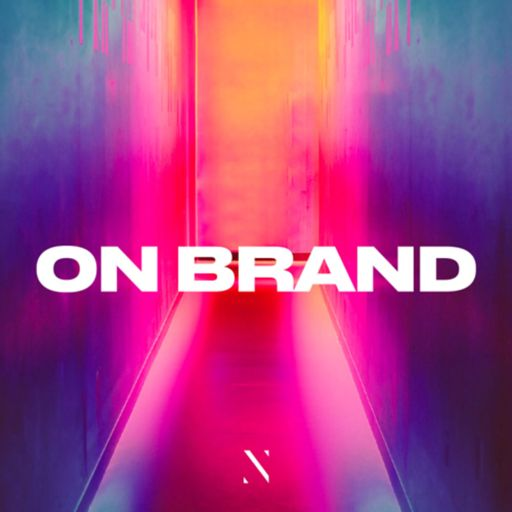Cover art for podcast On Brand - The Creative Brand Marketing Podcast