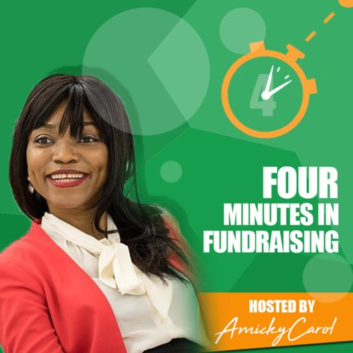 Cover art for podcast Four Minutes in Fundraising