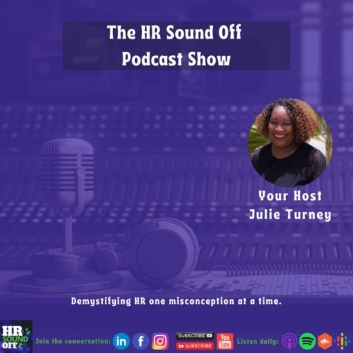 Cover art for podcast The HR Sound Off Podcast Show