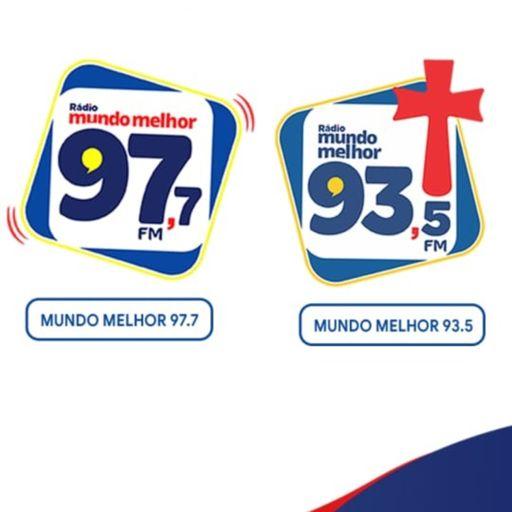Cover art for podcast Rádio Mundo Melhor 93,5FM e 97,7FM