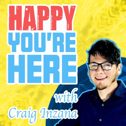 Cover art for podcast Happy You Are Here Podcast