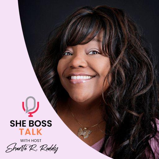Cover art for podcast She Boss Talk