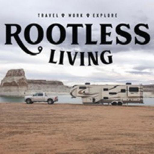 Cover art for podcast ROOTLESS LIVING