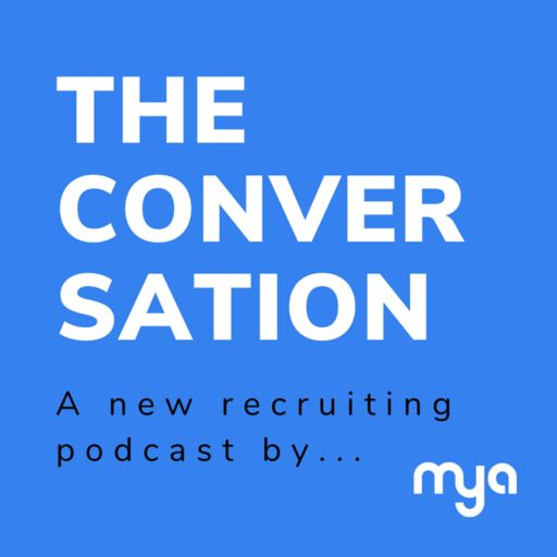 Cover art for podcast The Conversation by Mya Systems