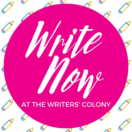 Cover art for podcast Write Now at The Writers' Colony