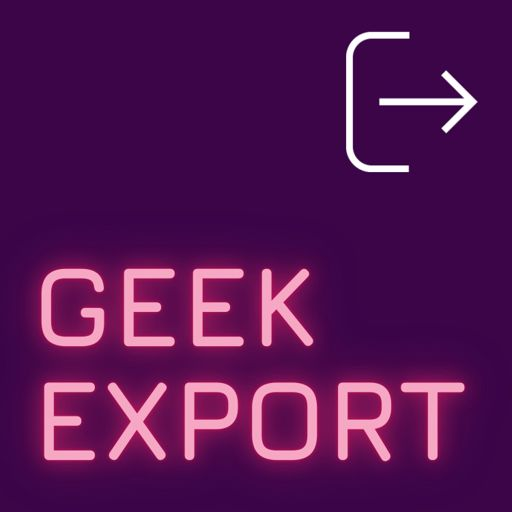Cover art for podcast Geek Export
