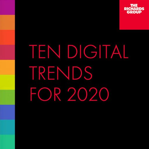 Cover art for podcast Ten Digital Trends for 2020