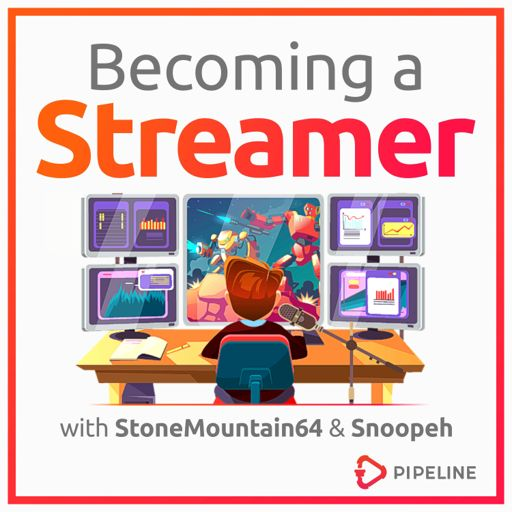 Cover art for podcast Becoming a Streamer